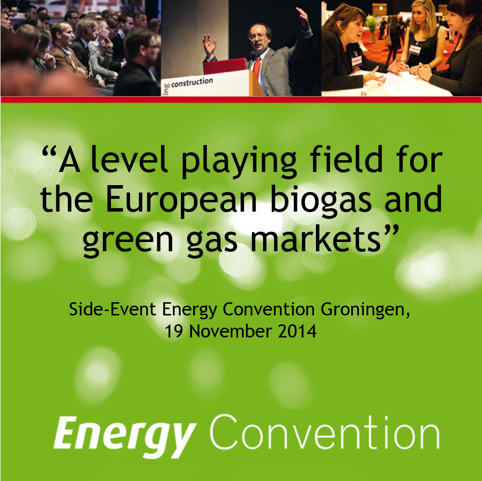 Energy convention flyer