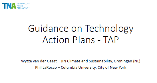 Presentation Gaast TAP Guidance Bonn 2016 title