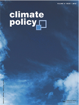 climate policy cover